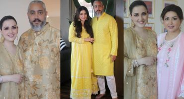 Natasha Khalid's Beautiful Pictures With Her Family Celebrating Eid