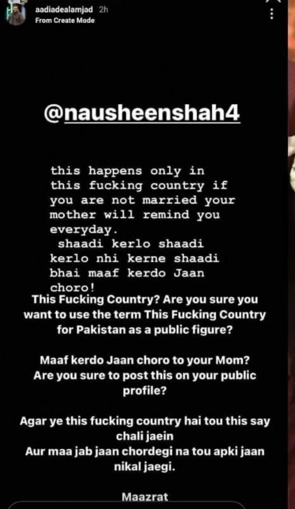 Nausheen Shah Under Fire After Her Statement On Pressures To Get Married