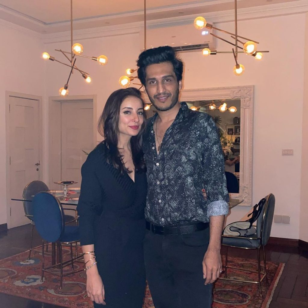 Neha Rajpoot And Shahbaz Taseer Hosted Friends Get Together