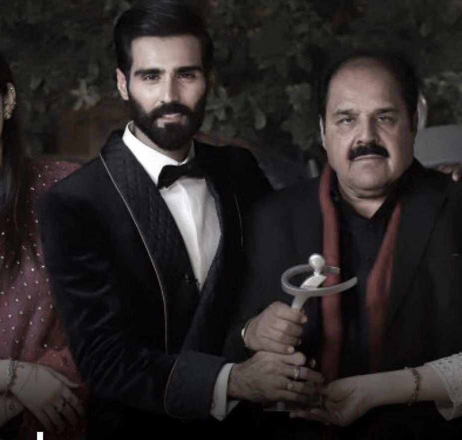 Fashion Model Hasnain Lehri's Father Passed Away