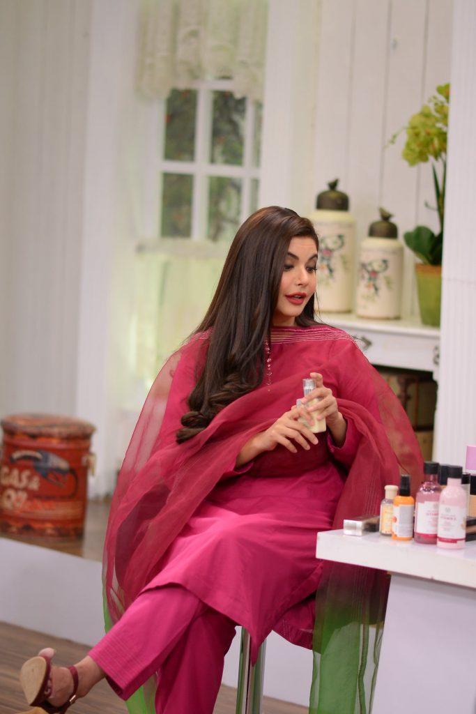 Nida Yasir Revealed Secrets behind Her Glowing Skin