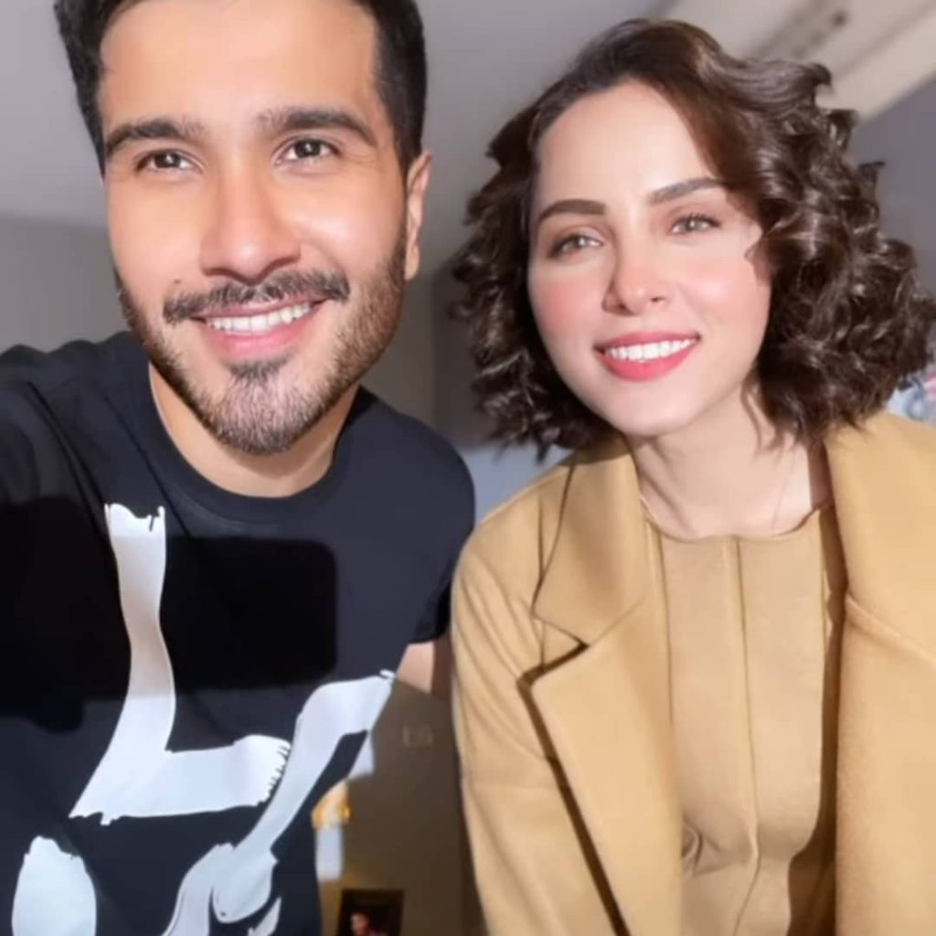Nimra Khan And Feroze Khan To Share The Screen Soon - BTS Pictures