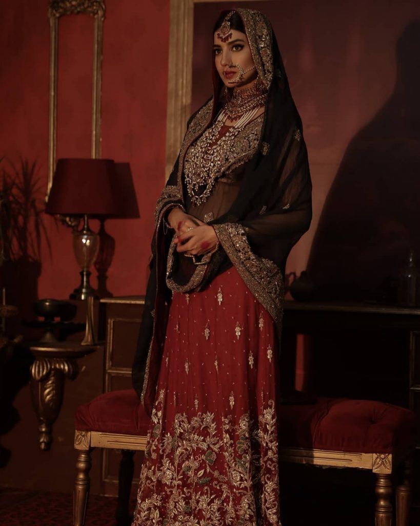 Zeeniya Couture Bridal Collection Featuring Rabia Butt