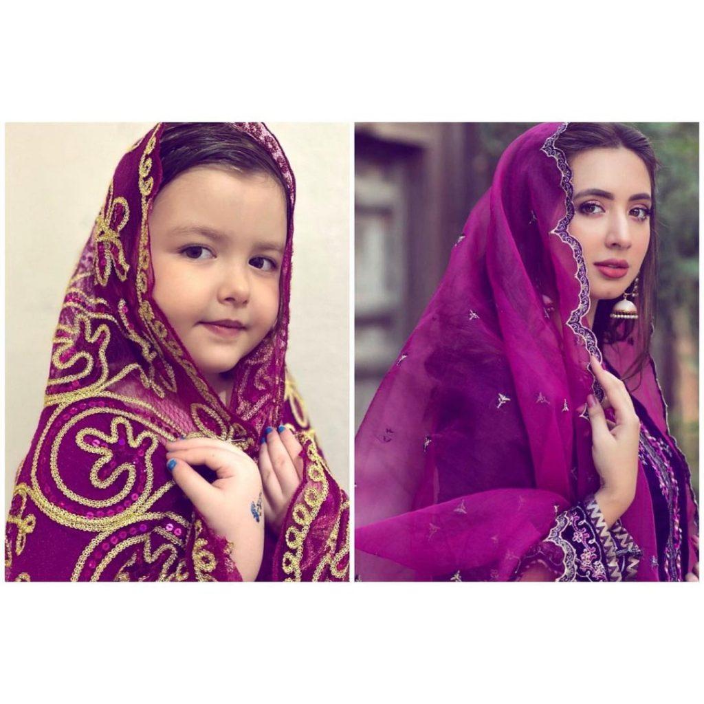 4 Years Old Albanian Girl Recreated The Looks Of Pakistani Celebrities