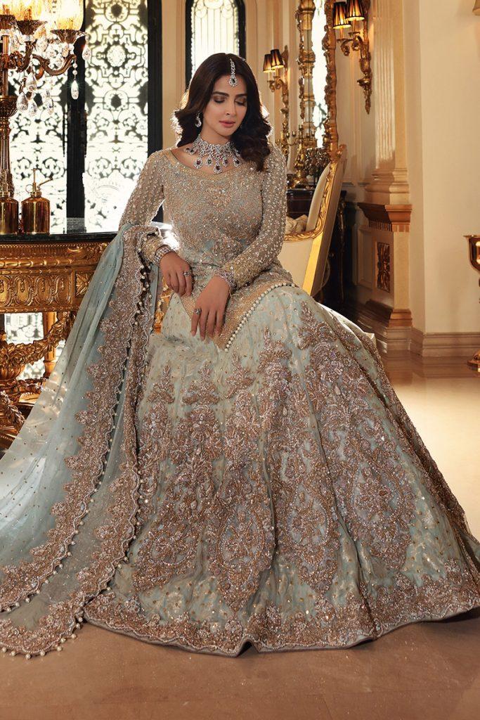 Saba Qamar Pulling Off Traditional Bridal Looks Like A Pro