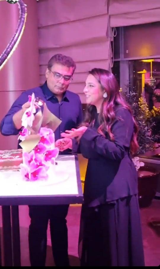 Salman Iqbal Celebrates First Wife's Birthday In Dubai