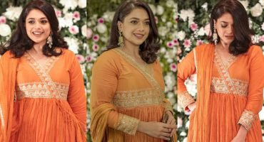 Sanam Jung Looked Bewitching In Orange Dress - Adorable Pictures