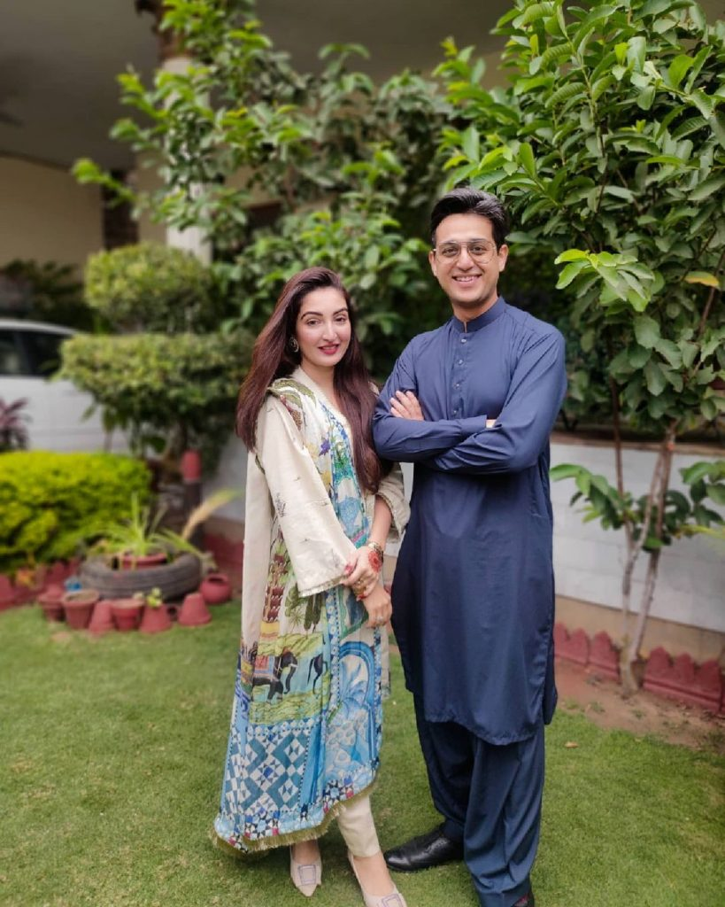 Beautiful Pictures Of Shafaat Ali With His Family Celebrating Eid-ul-Fitr