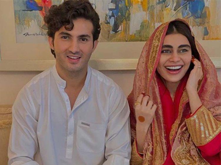 Shahroz Sabzwari Shares An Unconventional Anniversary Wish For Sadaf Kanwal