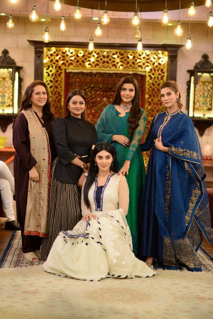 Nazish Jahangir, Eshal Fayyaz, Juvaria Abbasi And Ismat Zaidi At Shan-e-Suhoor