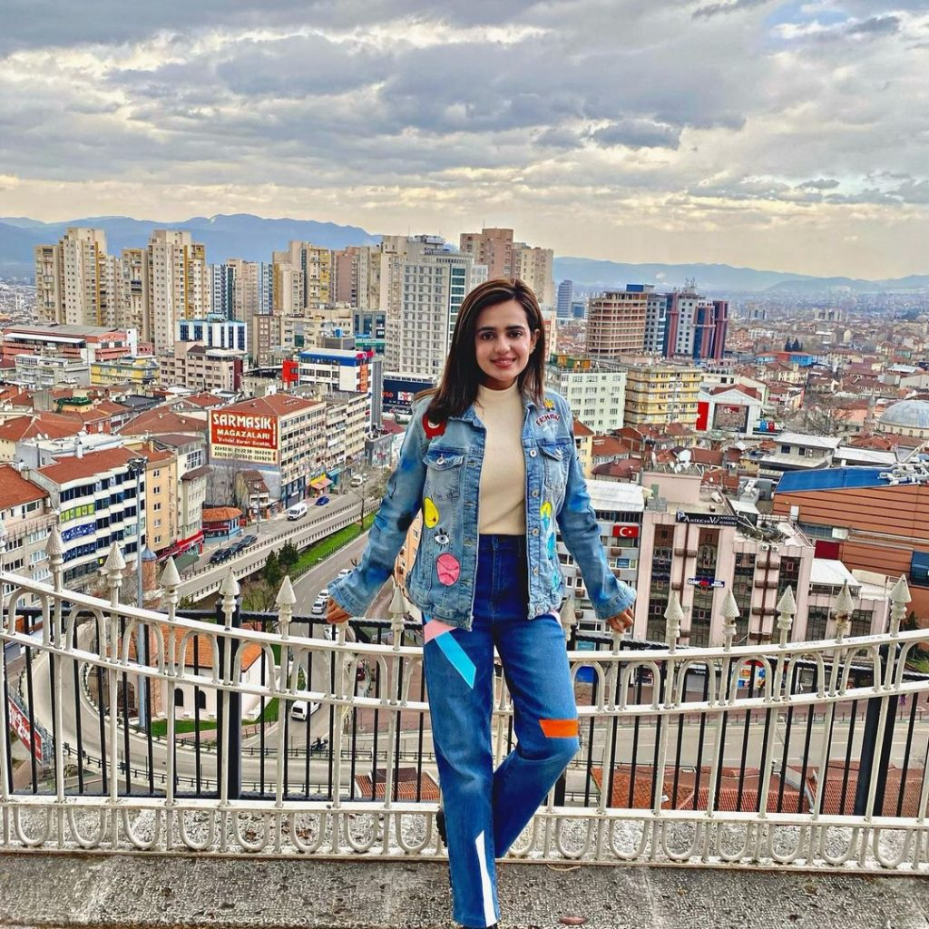 Unseen Pictures of Sumbul Iqbal from Turkey Trip