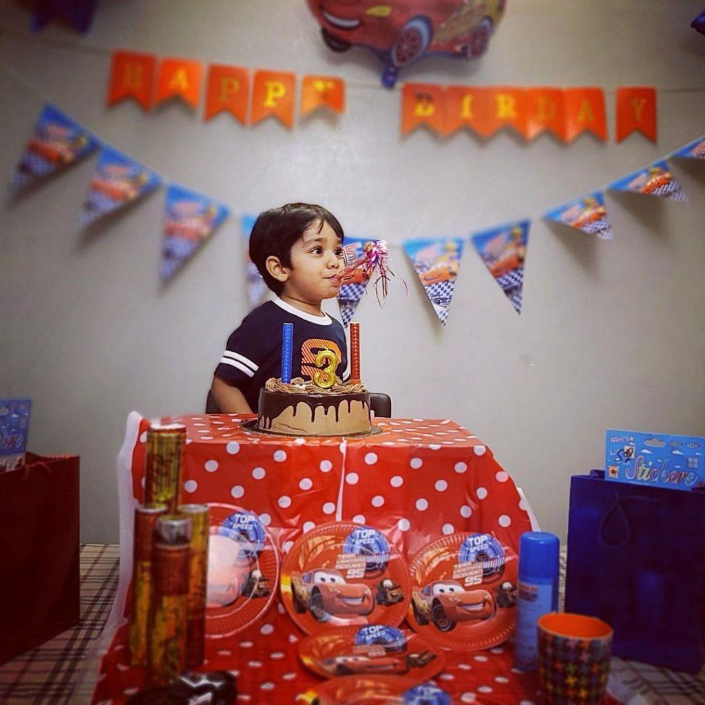 Uroosa Siddiqui Celebrated 3rd Birthday Of Her Son Hamza