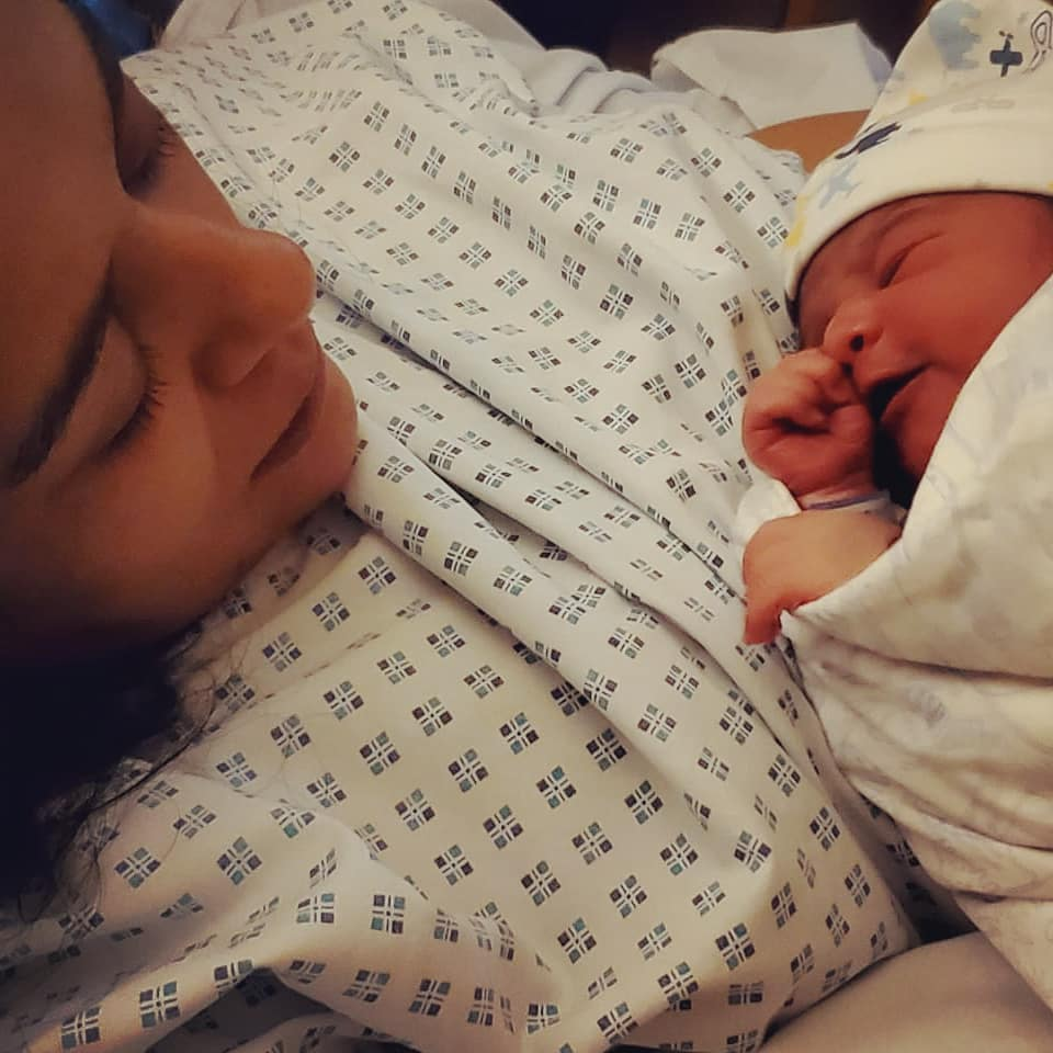Actress Yasra Rizvi Blessed With A Baby Boy
