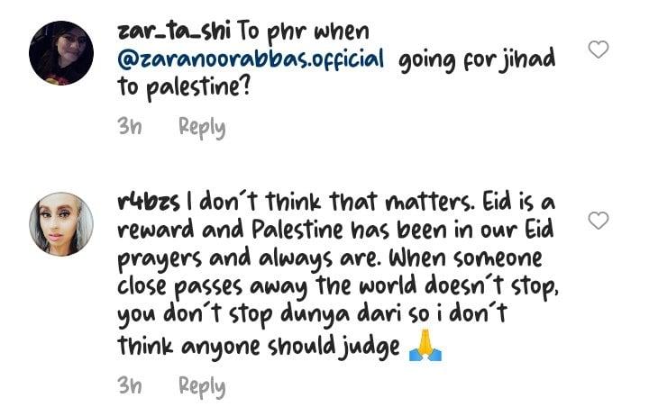 Netizens Disagree With Zara Noor Abbas On Her Recent Statement