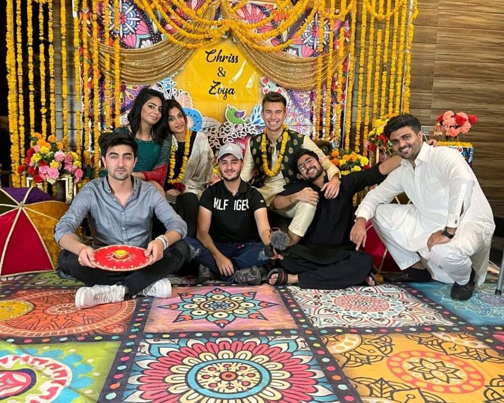 Zoya Nasir's Surprise Dholki Arranged By Shahveer Jaffery