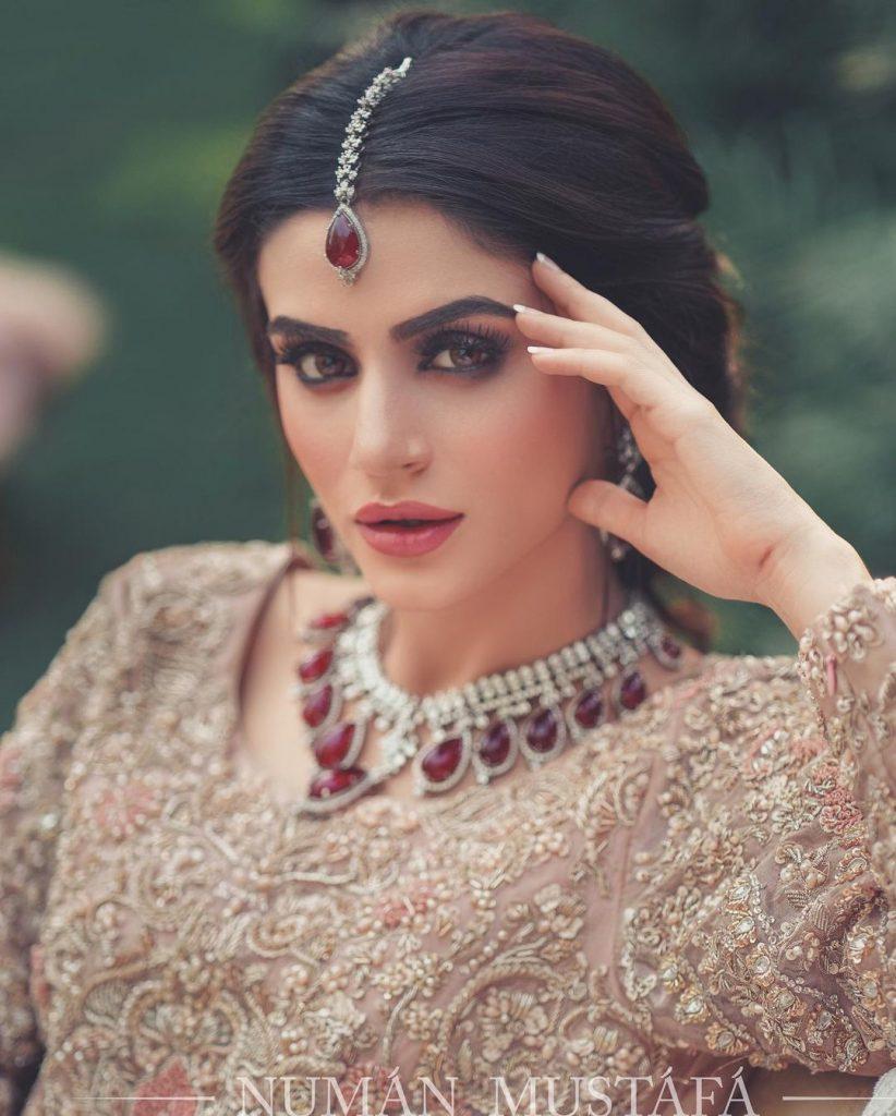 Zubab Rana Stunned In The Bridal Attire By Waqar Asghar