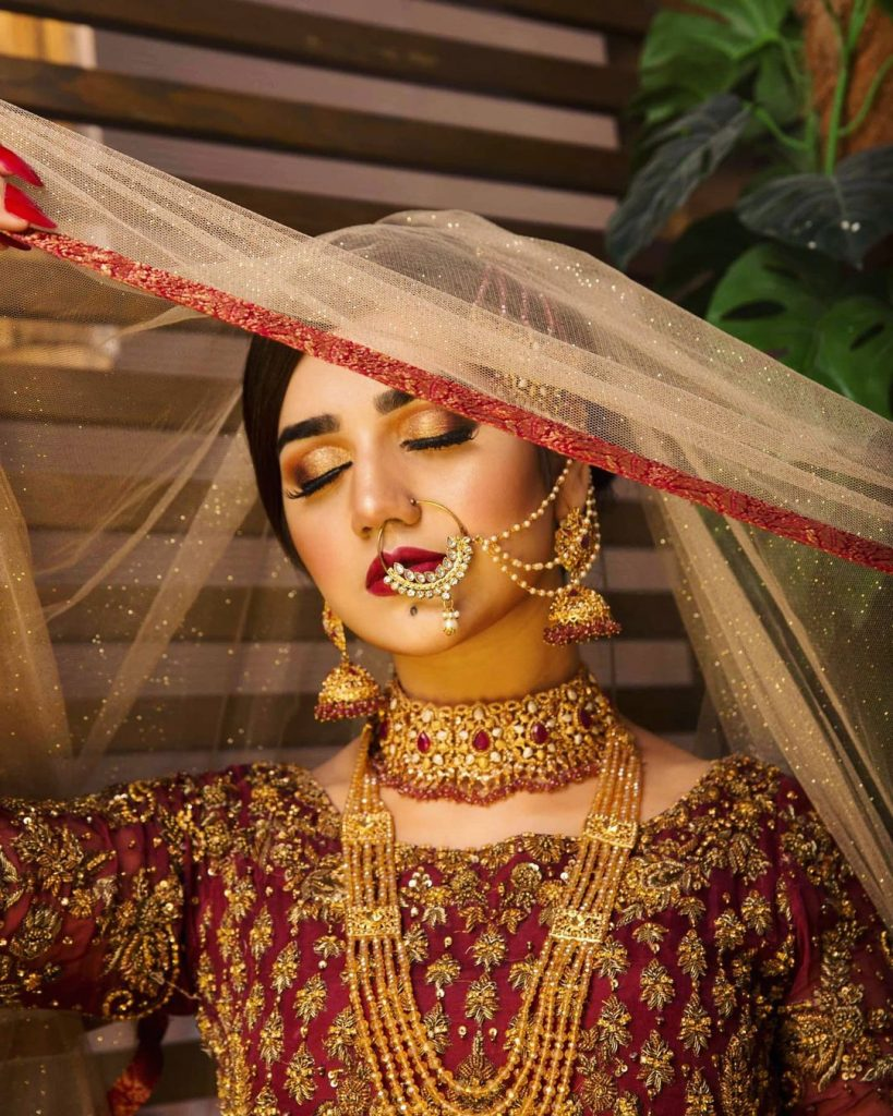 Anum Fayyaz Looks Exquisitely Beautiful In Her Latest Bridal Look