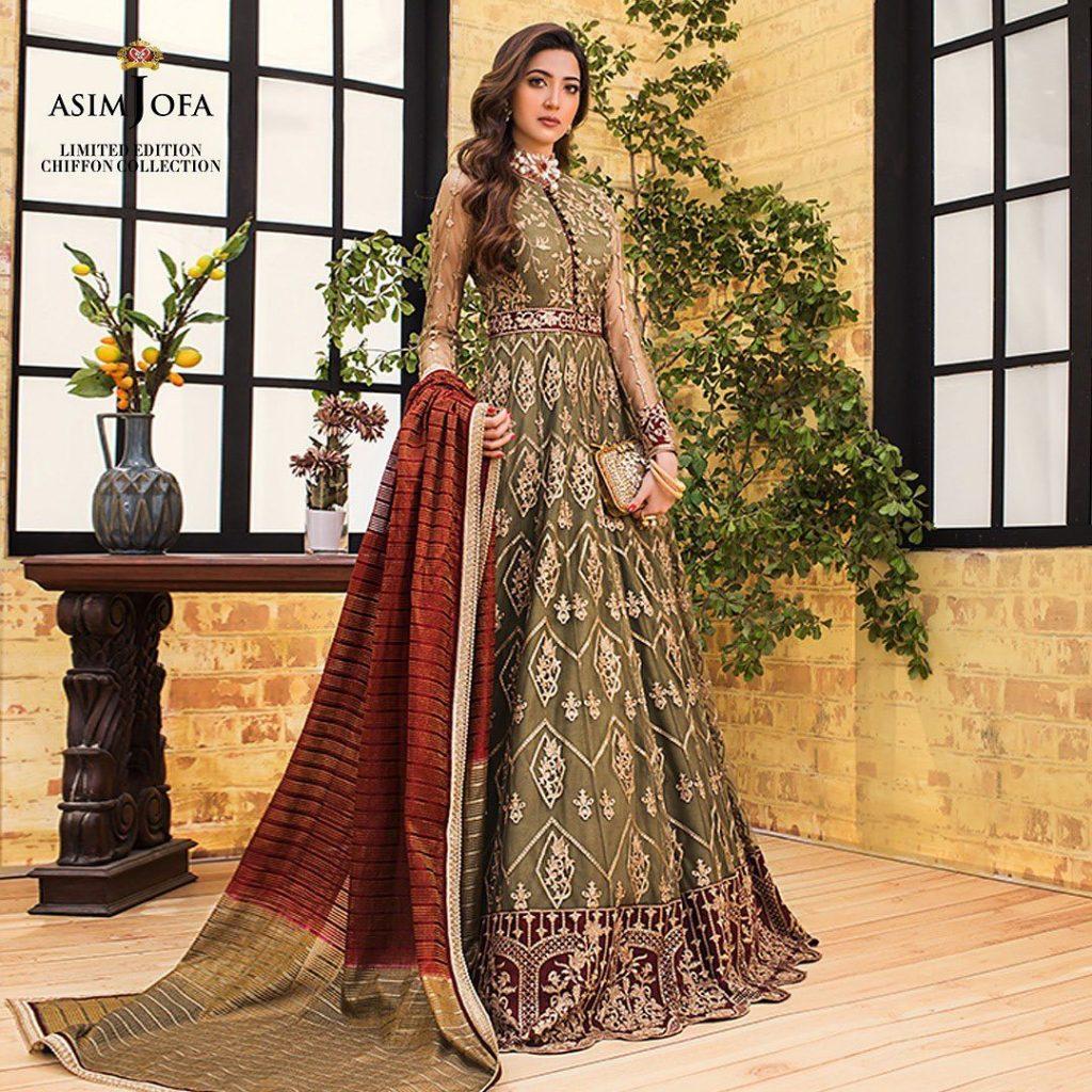 Asim Jofa Limited Chiffon Collection 2021
