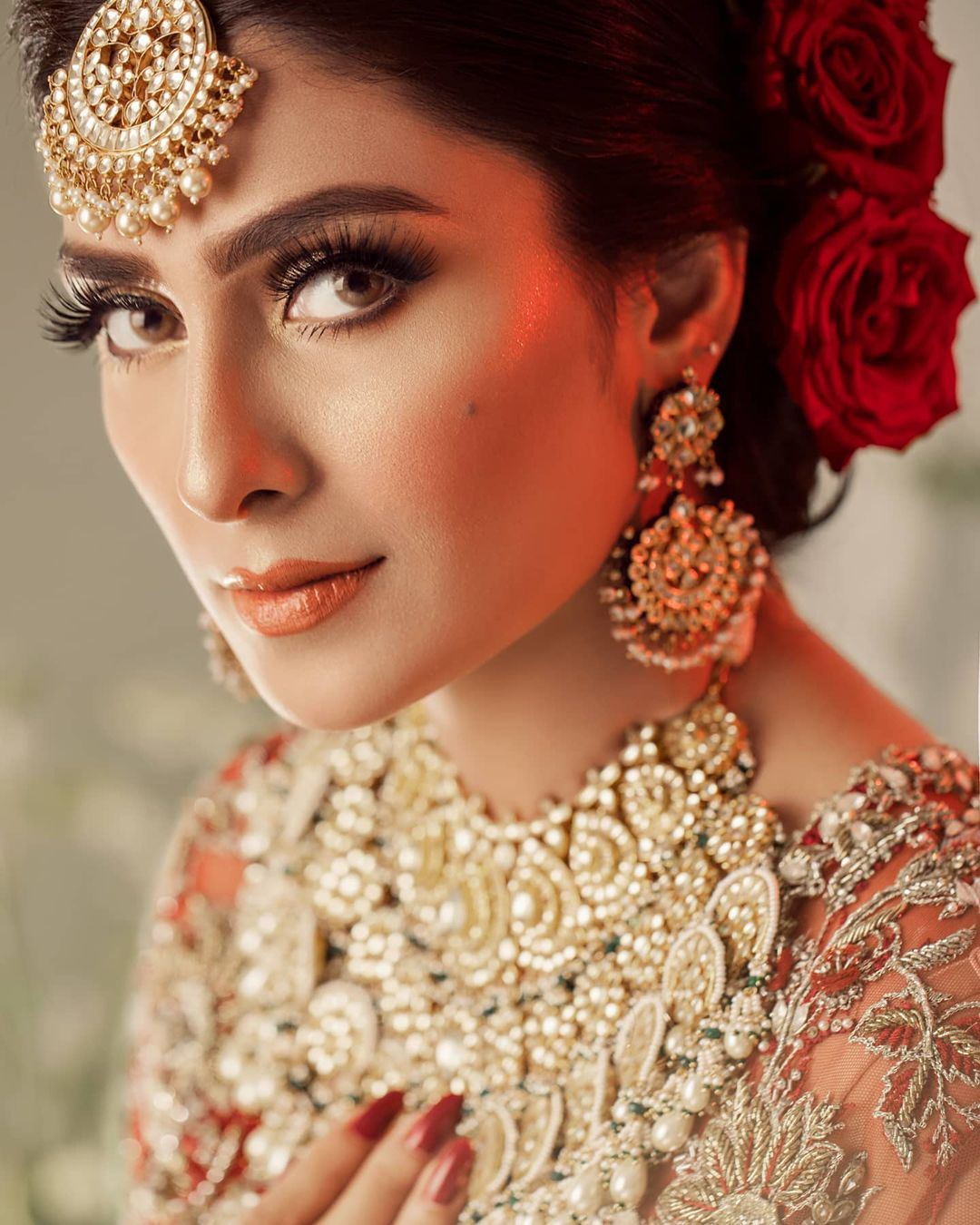 Ayeza Khan Nails Eloquent Charm In her Latest Bridal Shoot