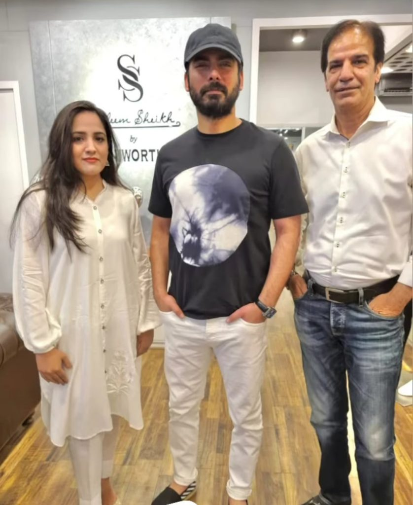 Exclusive Fawad Khan Pictures With Friends