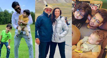 Pakistani Celebrities Celebrates Father's Day 2021