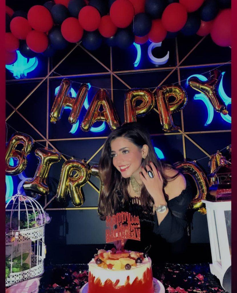 Hina Ashfaq Beautiful Birthday Pictures