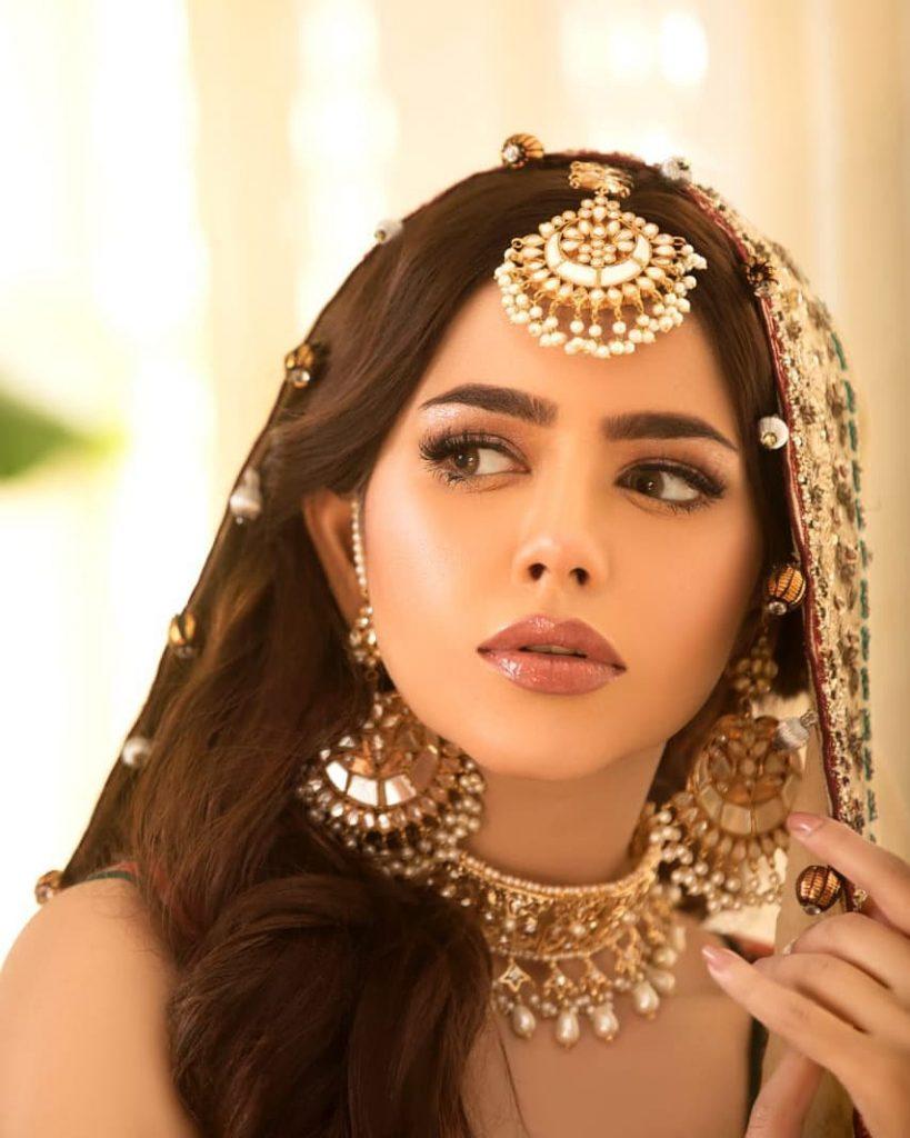 Hina Ashfaq Looks Elegant In Her Recent Bridal Shoot
