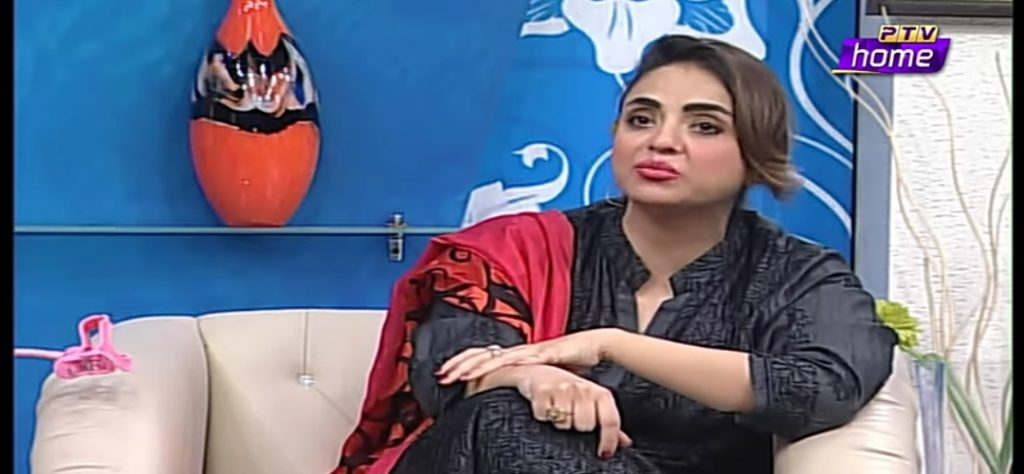 Why Nadia Khan Got Emotional During Her Show