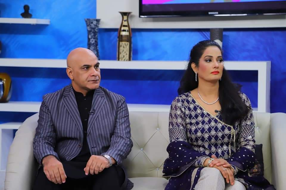 Jia Ali New Pictures With Husband From Morning Show