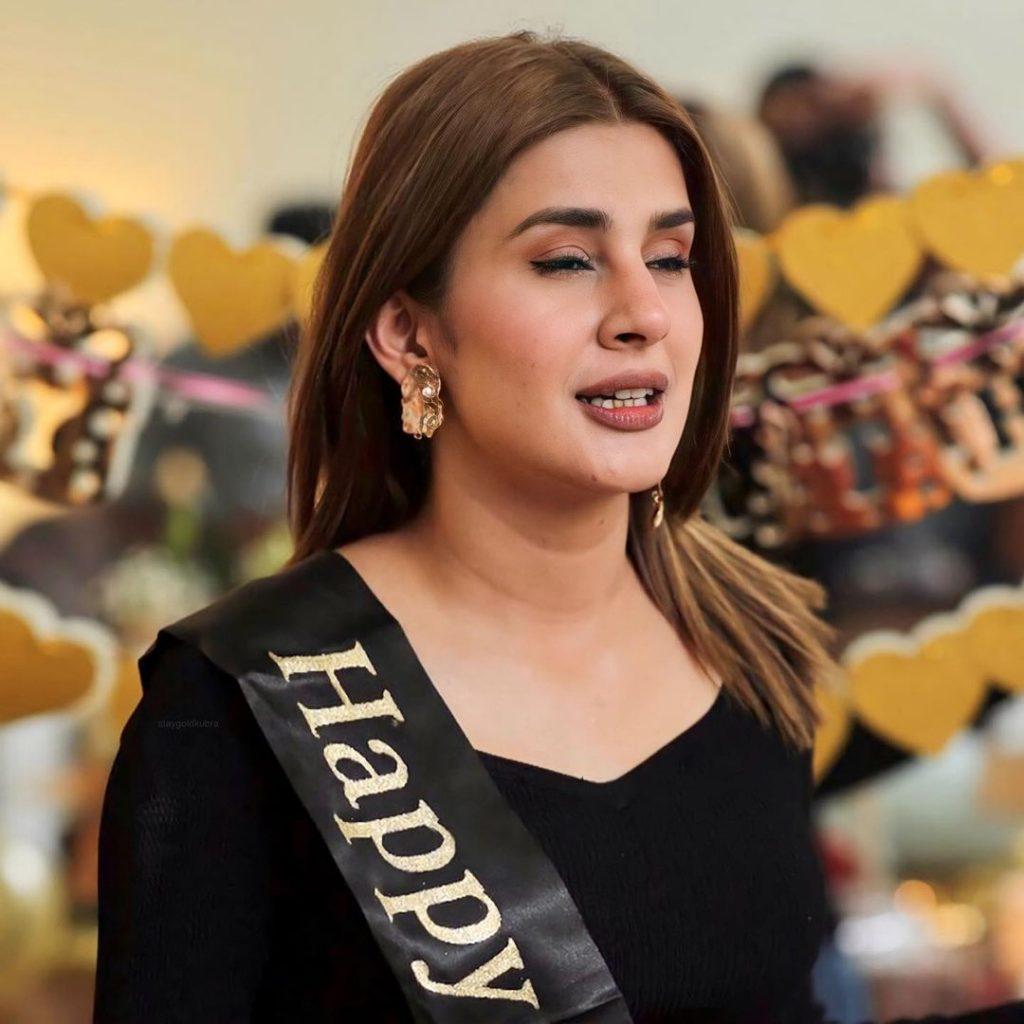 Glimpses From Kubra Khan's Birthday Bash