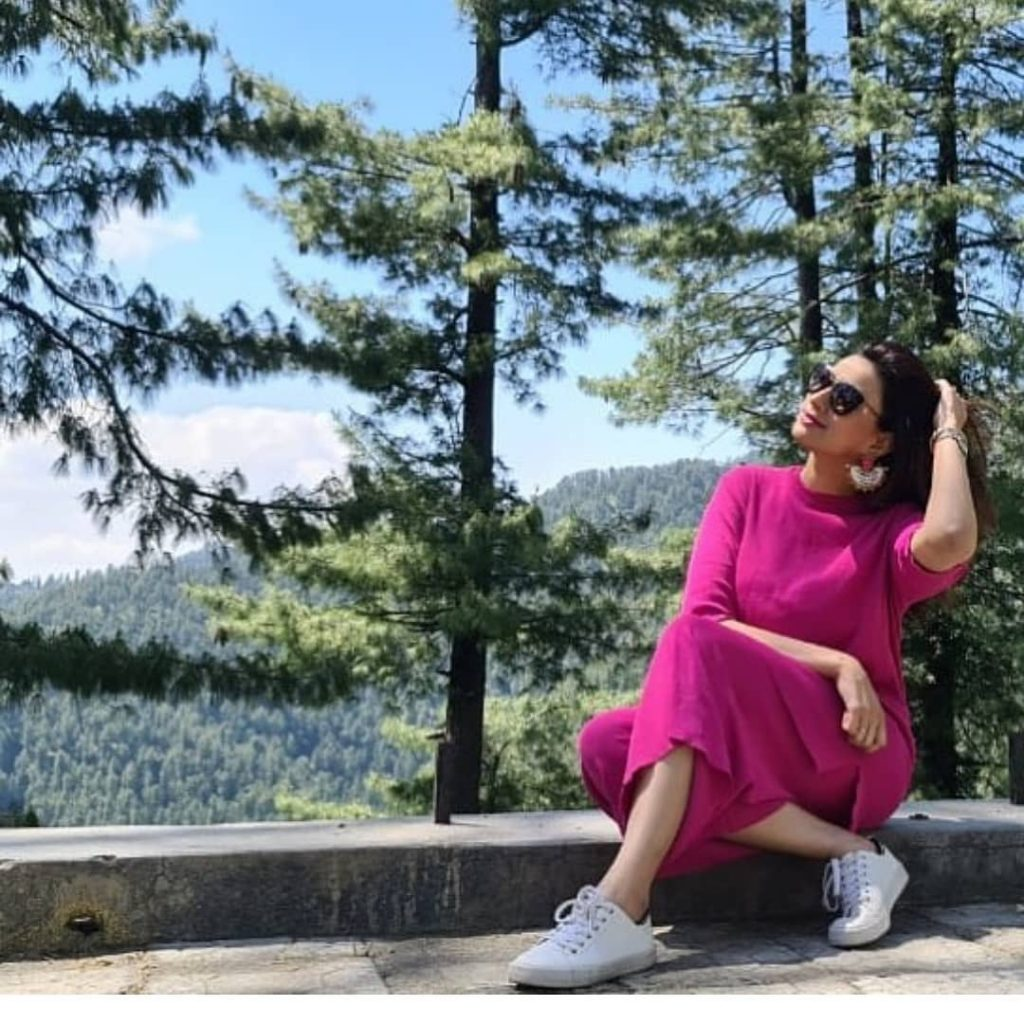 Madiha Naqvi Beautiful Pictures From Vacations