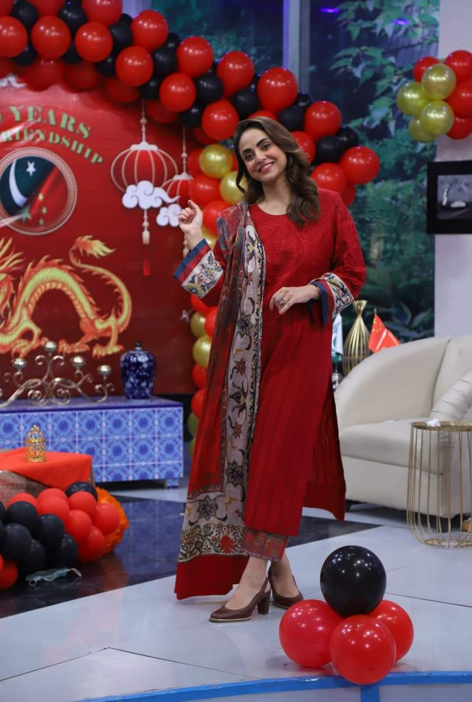 Nadia Khan Angry On Wikipedia on Showing Hania as Her Spouse