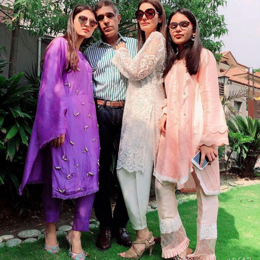 Natasha Hussain Beautiful Family Pictures