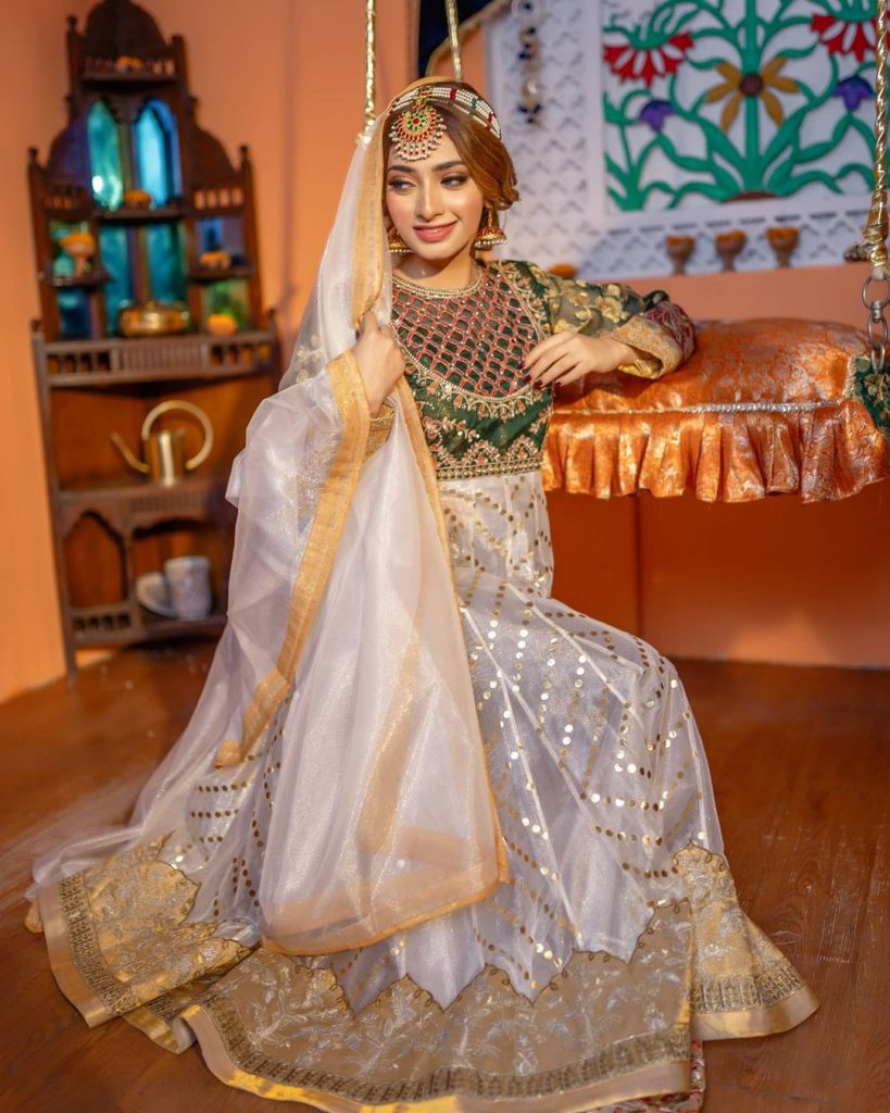 Nawal Saeed In Elegant Traditional Attire - Beautiful Pictures