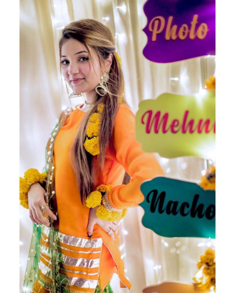 Rabeeca Khan Beautiful Looks From Friend's Wedding