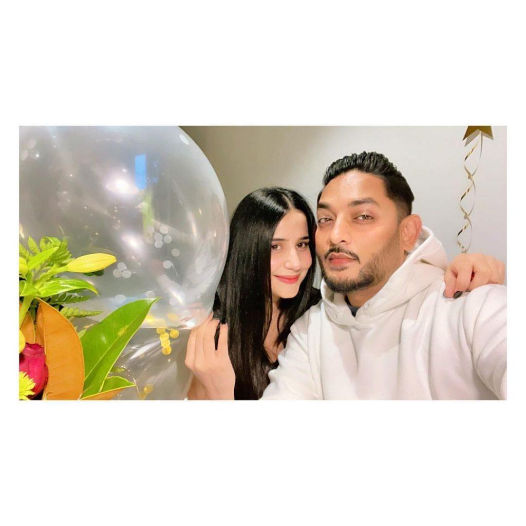 Saniya Shamshad Hussain Celebrates Hubby's Birthday - Pictures