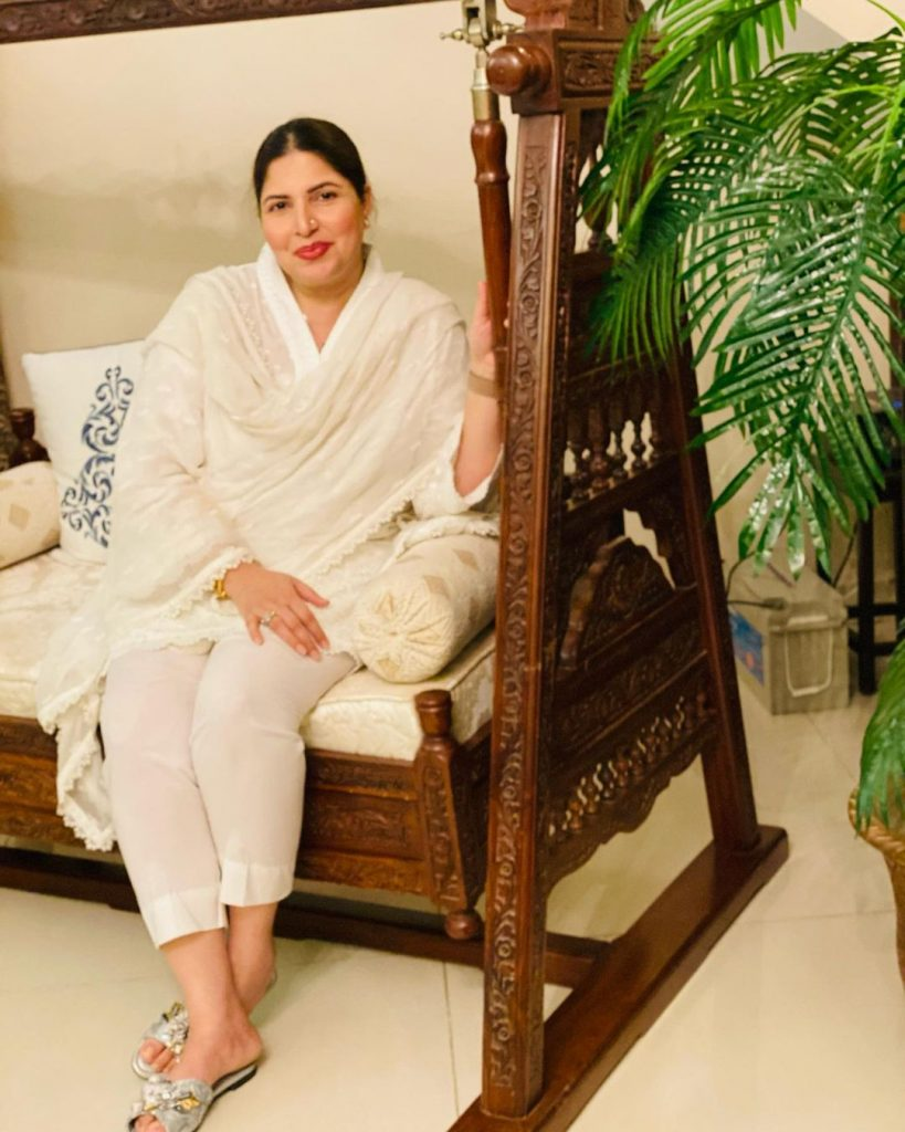 HD Pictures From Engagement Ceremony Of Shagufta Ejaz's Daughter