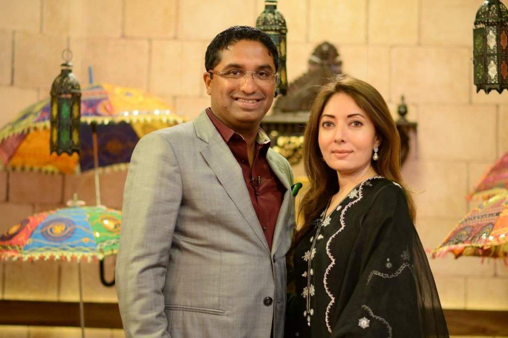 Sharmila Farooqi and Hasham Riaz First Meeting - Interesting Story