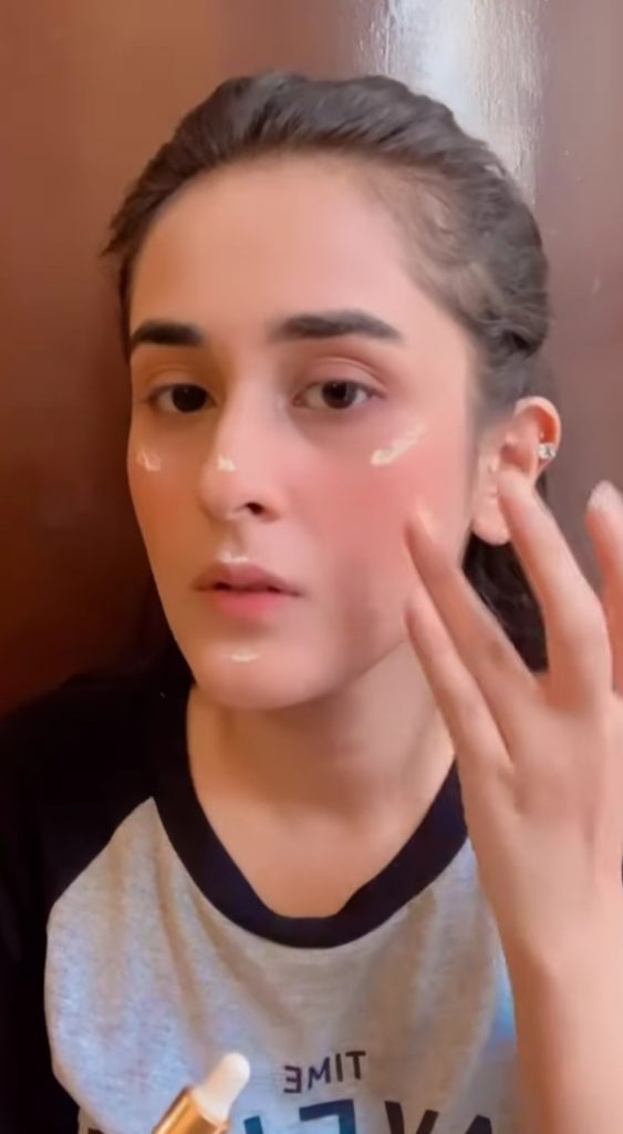 Beautiful Shehzeen Rahat's Go To Make Up Look