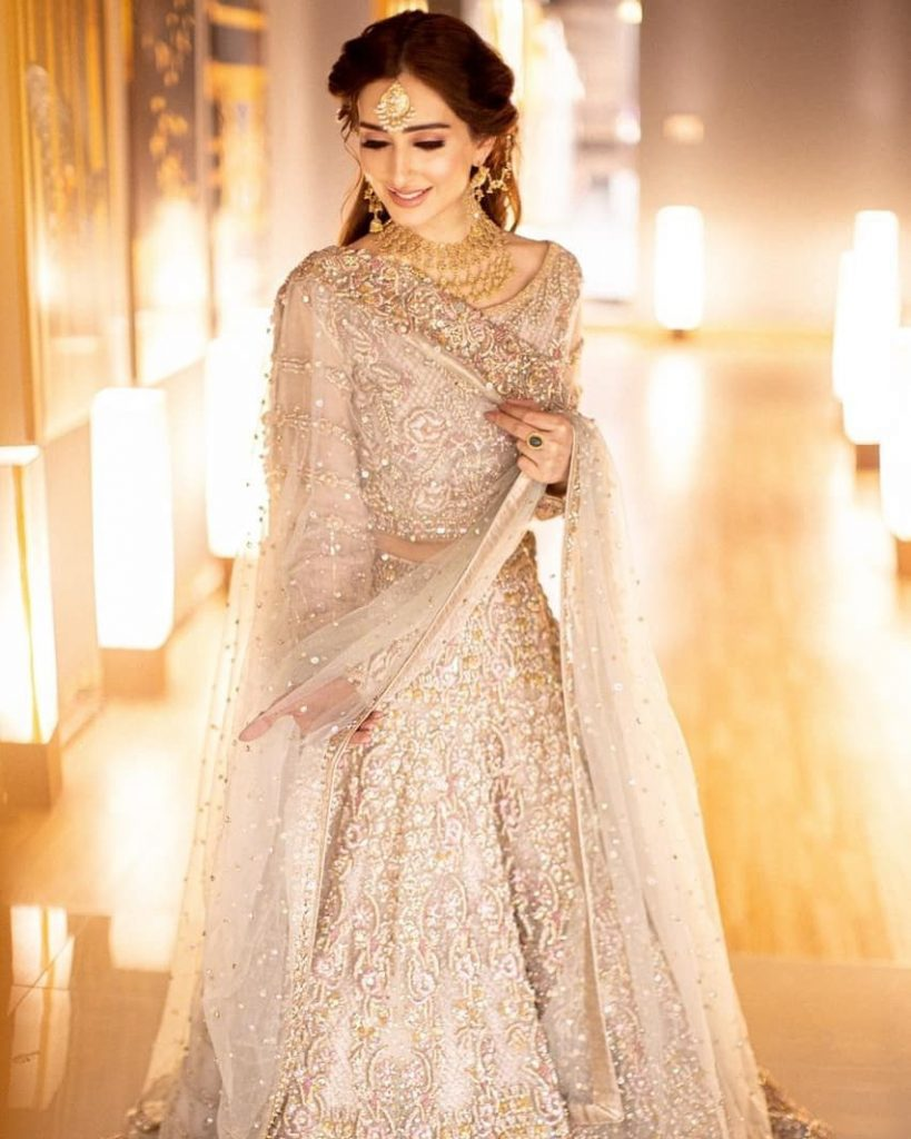 Sidra Niazi Stuns In Her Recent Bridal Shoot