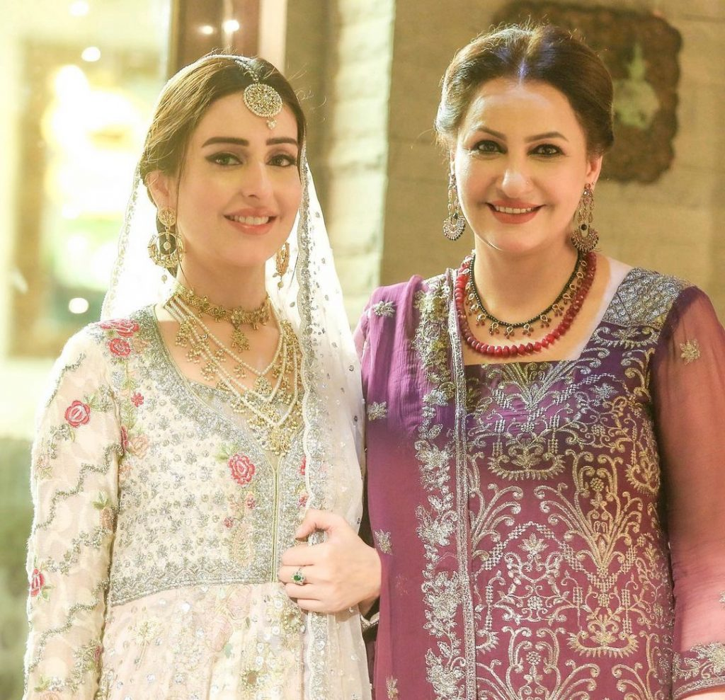 Sidra Niazi Beautiful Bridal Pictures From Drama Qayamat