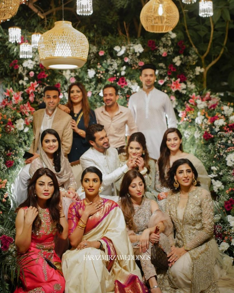Minal Khan And Ahsan Mohsin Ikram Engagement HD Pictures