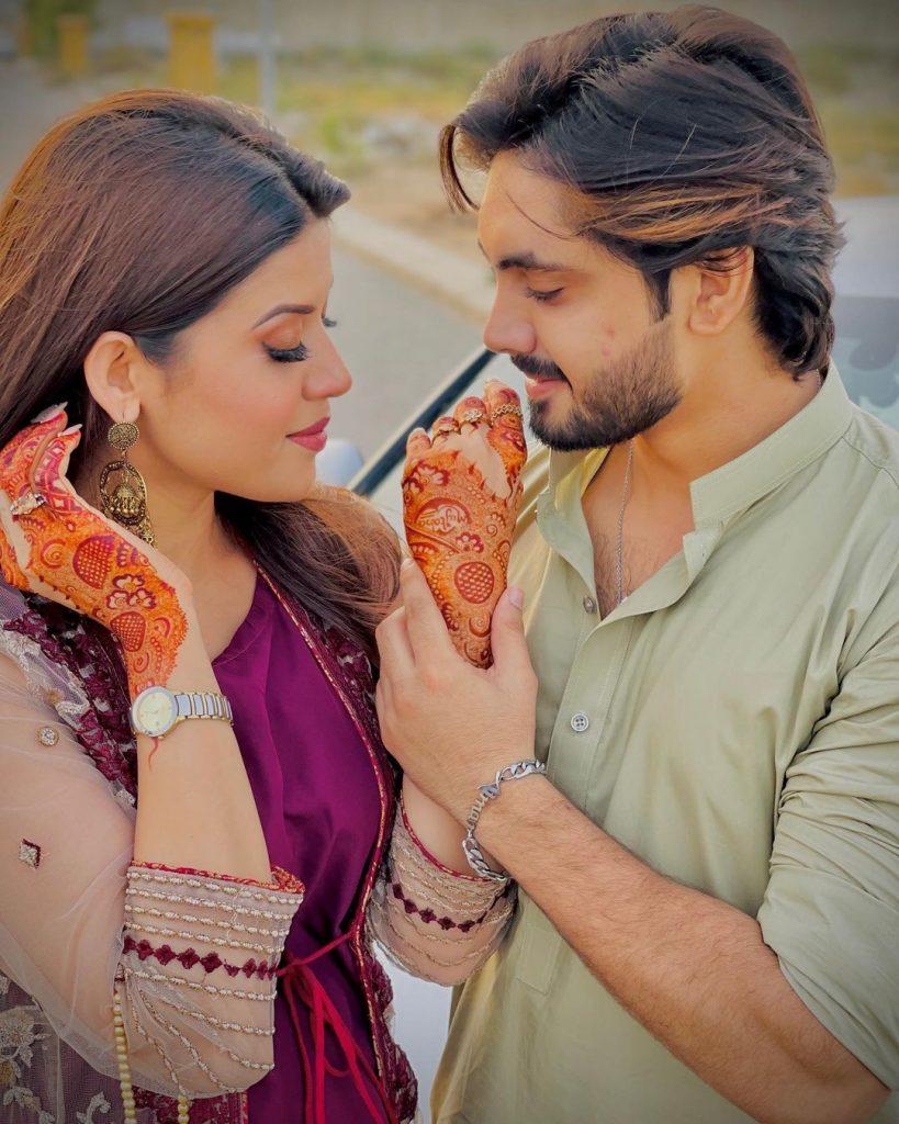 Aiman Zaman And Mujtaba Lakhani- Adorable Couple Pictures