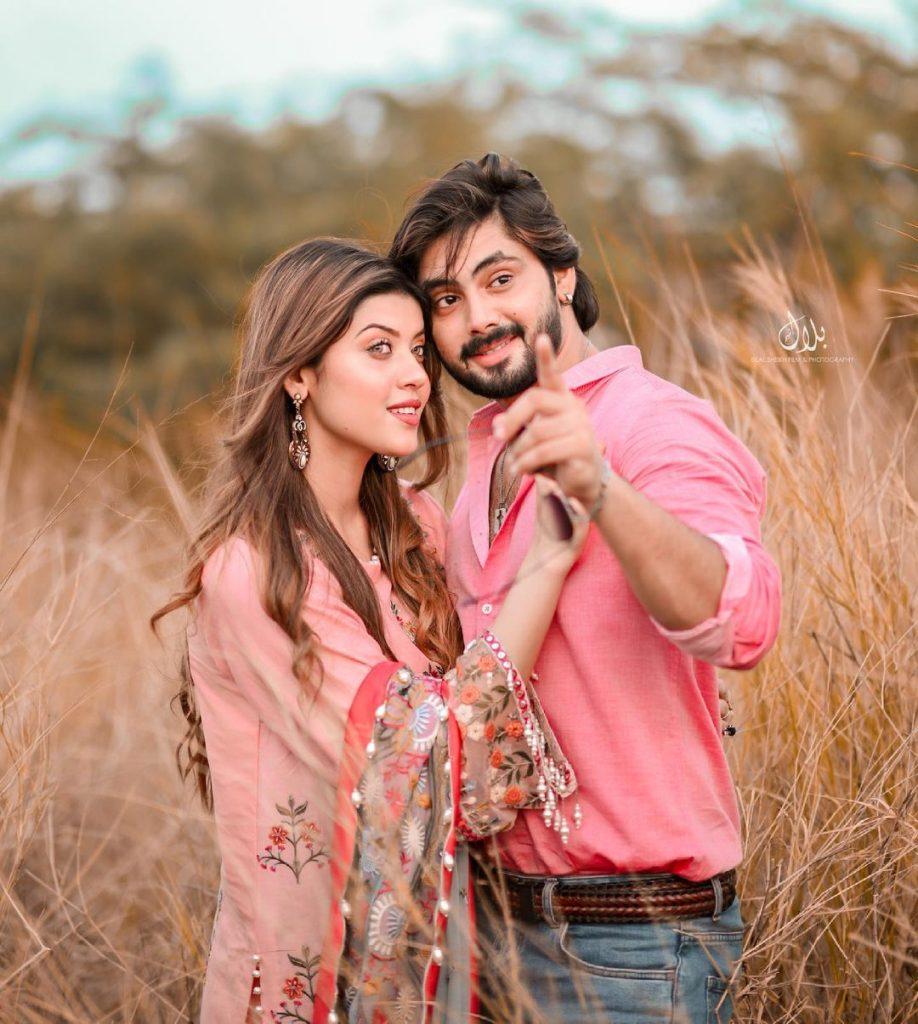 Aiman Zaman's Loved-Up Photoshoot With Beau Mujtaba Lakhani