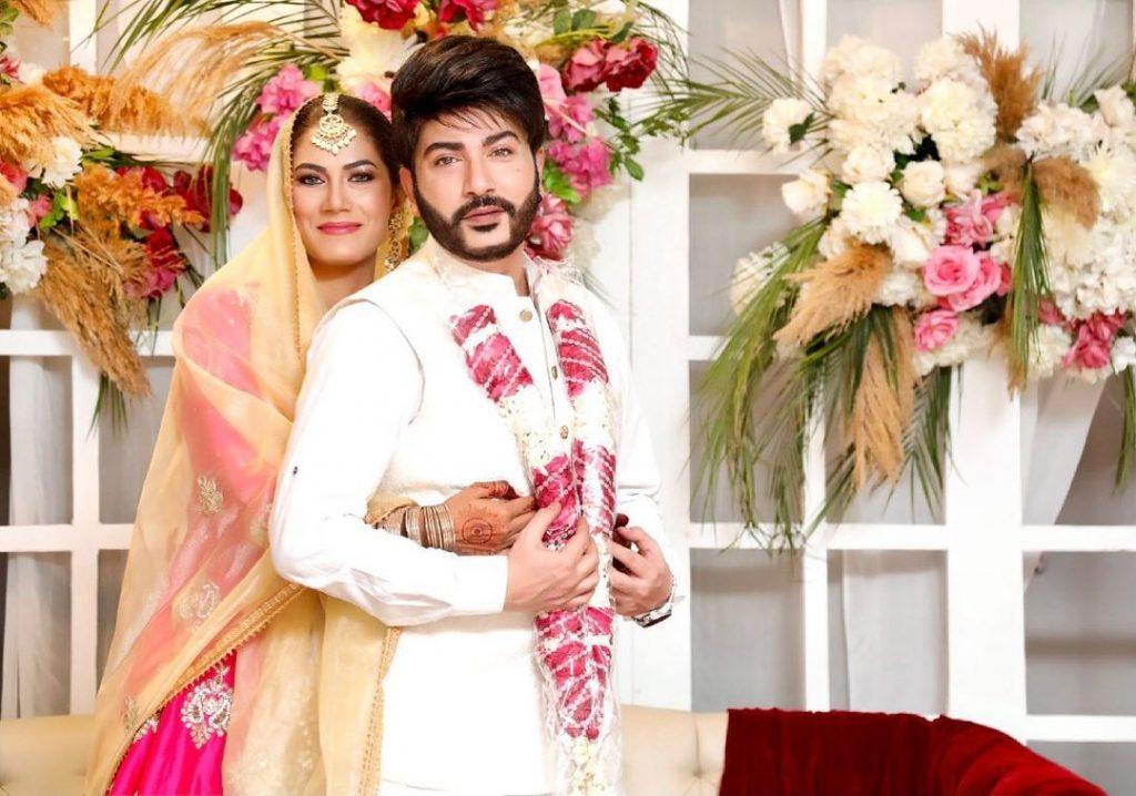 Beautiful Wedding Pictures Of Makeup Artist Akif Ilyas