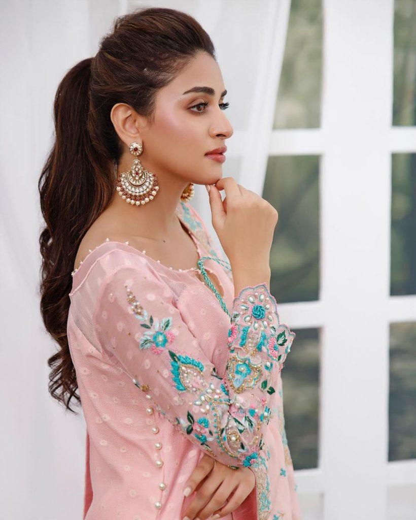 Anmol Baloch Stuns In Her Latest Fashion Shoot