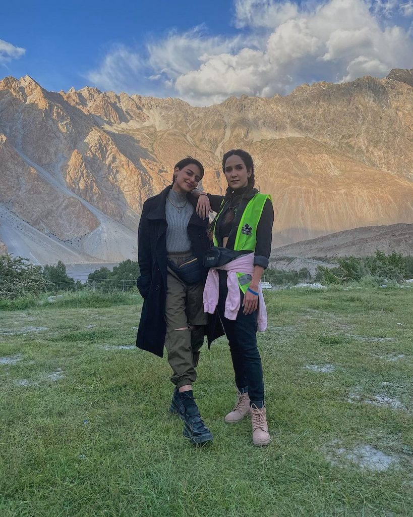 Anoushay Abbasi Vacationing In Hunza- Beautiful Pictures