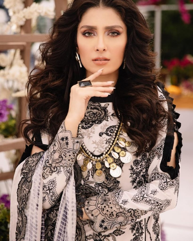Ayeza Khan Looks Heavenly Gorgeous In Her Latest Shoot For Asifa Nabeel