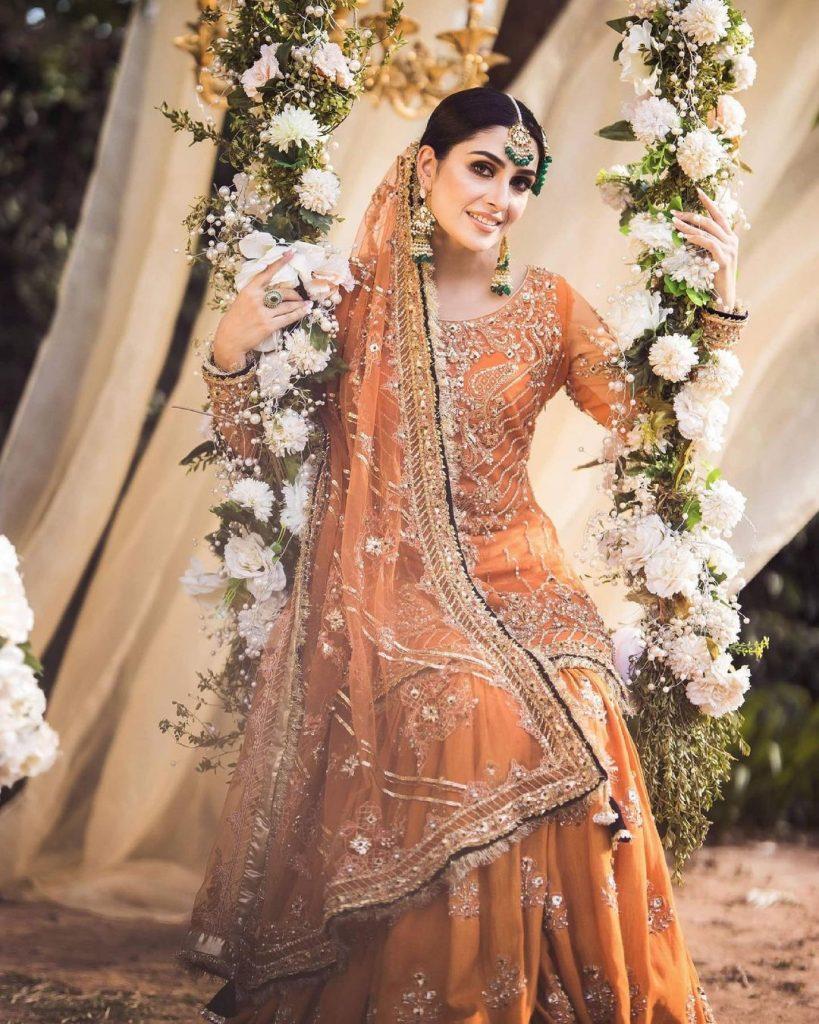 Ayeza Khan Looks Alluring In Her Latest Bridal Shoot