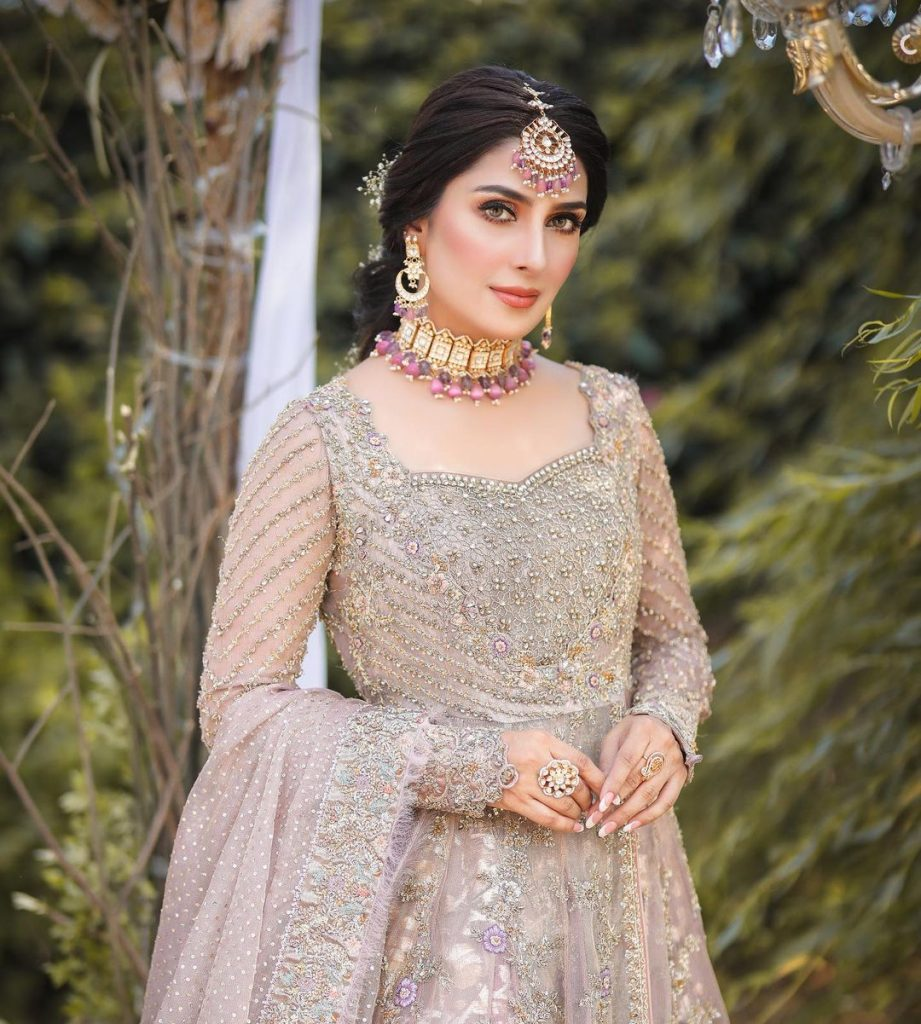 Ayeza Khan Dazzles As A Traditional Bride In Her Latest Photoshoot
